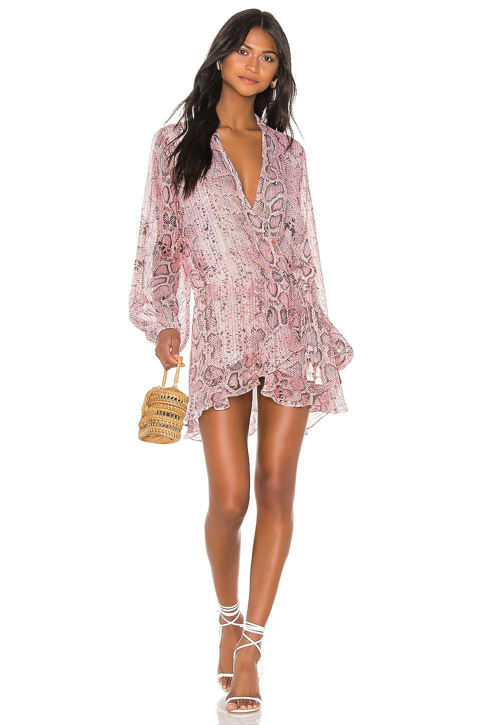ROCOCO SAND x REVOLVE Lexi Dress in Pink Snake