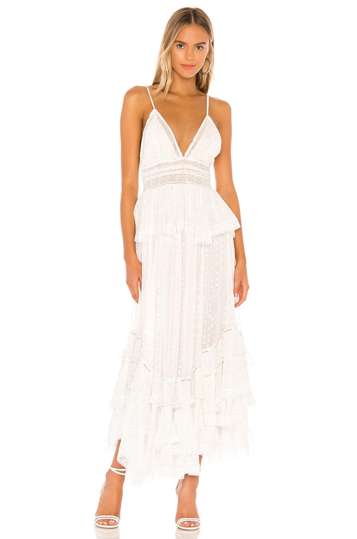 ROCOCO SAND Elna Dress in Off White