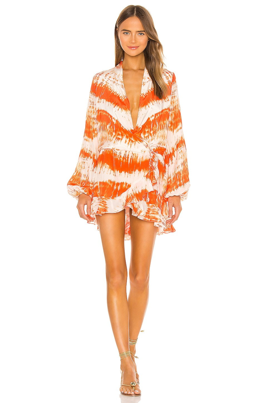 ROCOCO SAND Ilios Dress in Orange