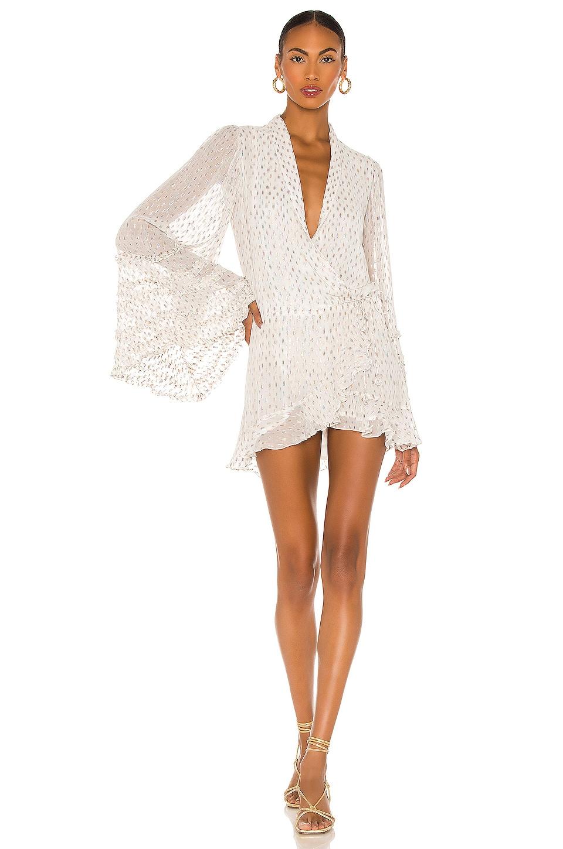 ROCOCO SAND Noi Mini Dress in Off White