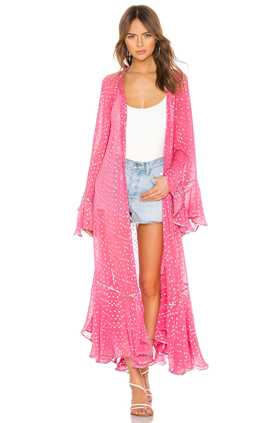 ROCOCO SAND Orlean Maxi Robe in Pink