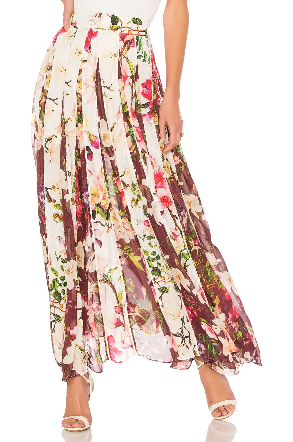 Floral Maxi Skirt by Rococo Sand