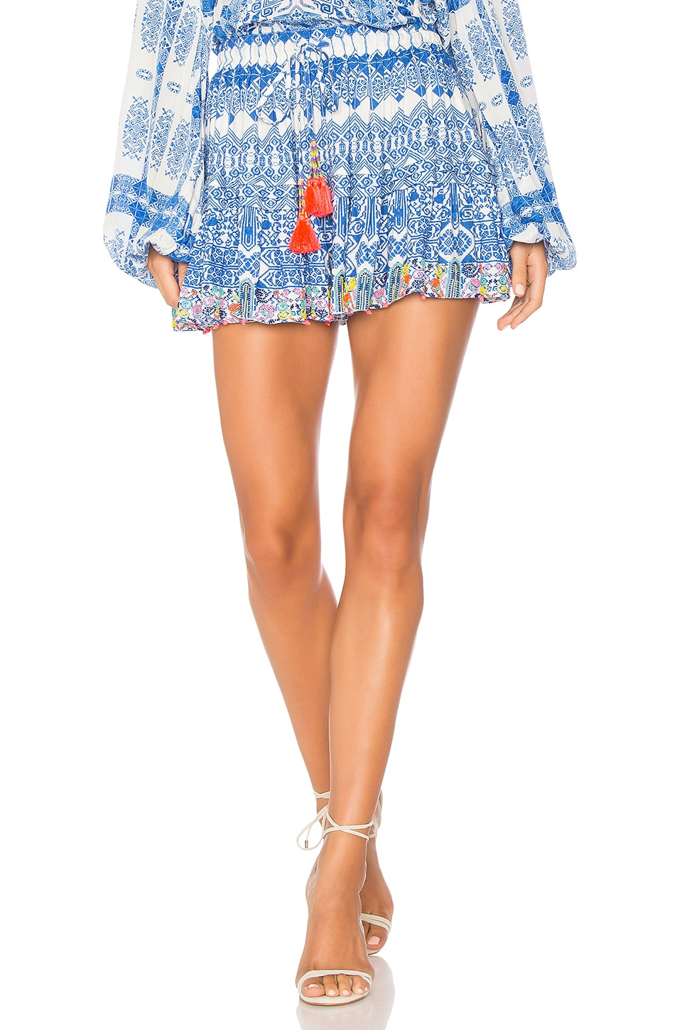 ROCOCO SAND Ionic Skirt in Blue