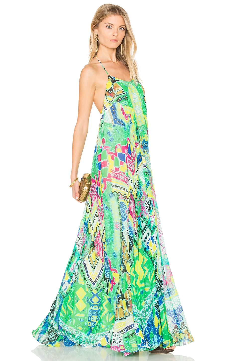 Long Watercolor Dress by Rococo Sand