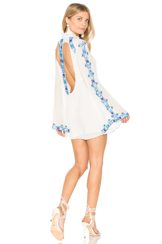 Long Sleeve Mini Dress by Rococo Sand
