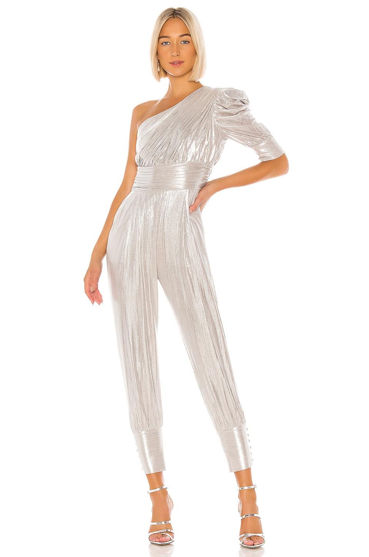 retrofete Thambi Jumpsuit in Silver