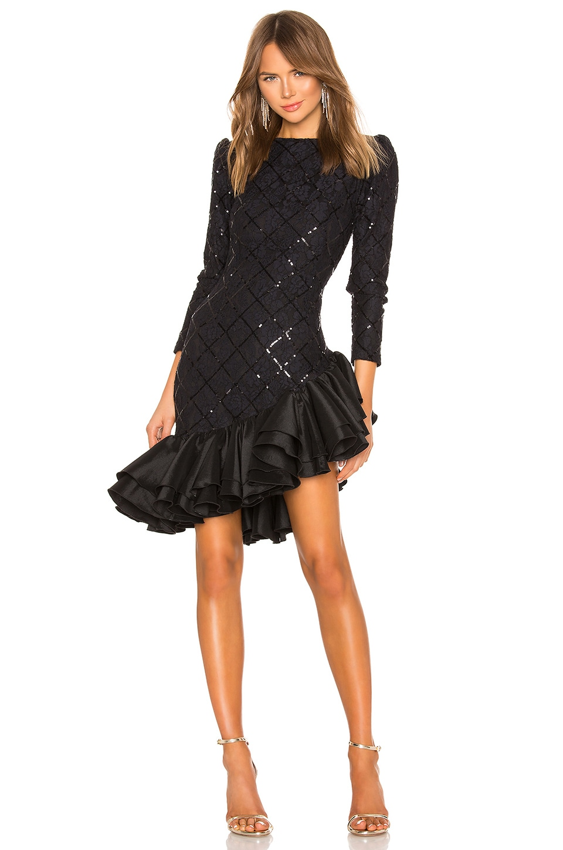 retrofete Tasha Dress in Black