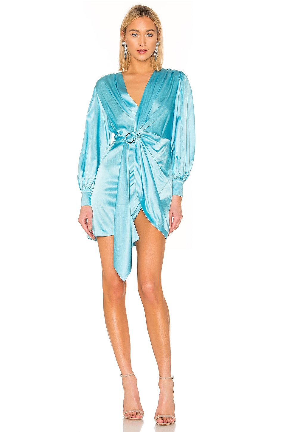 retrofete Elodie Dress in Light Blue