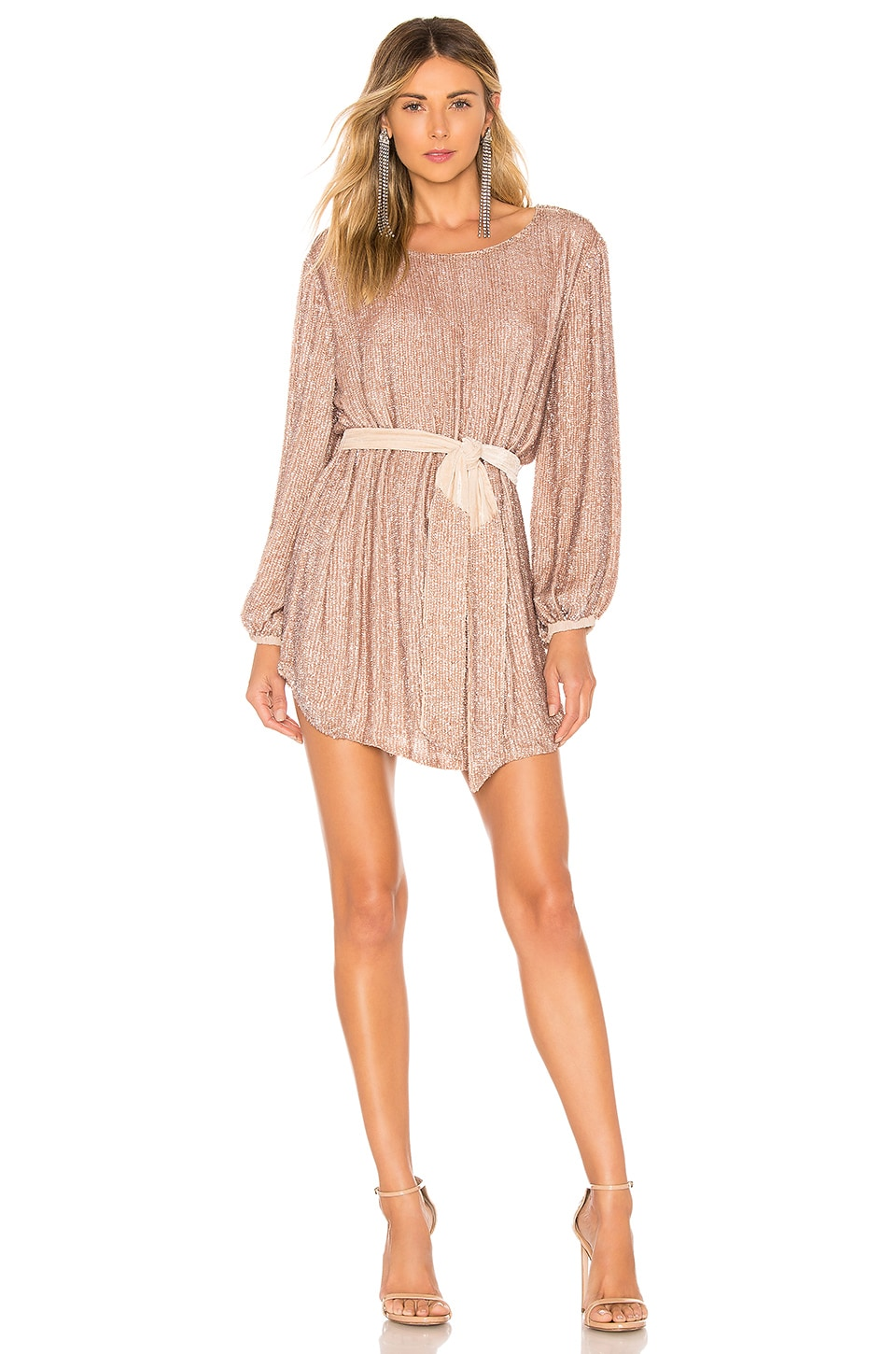 retrofete X REVOLVE Grace Dress in Rose Gold
