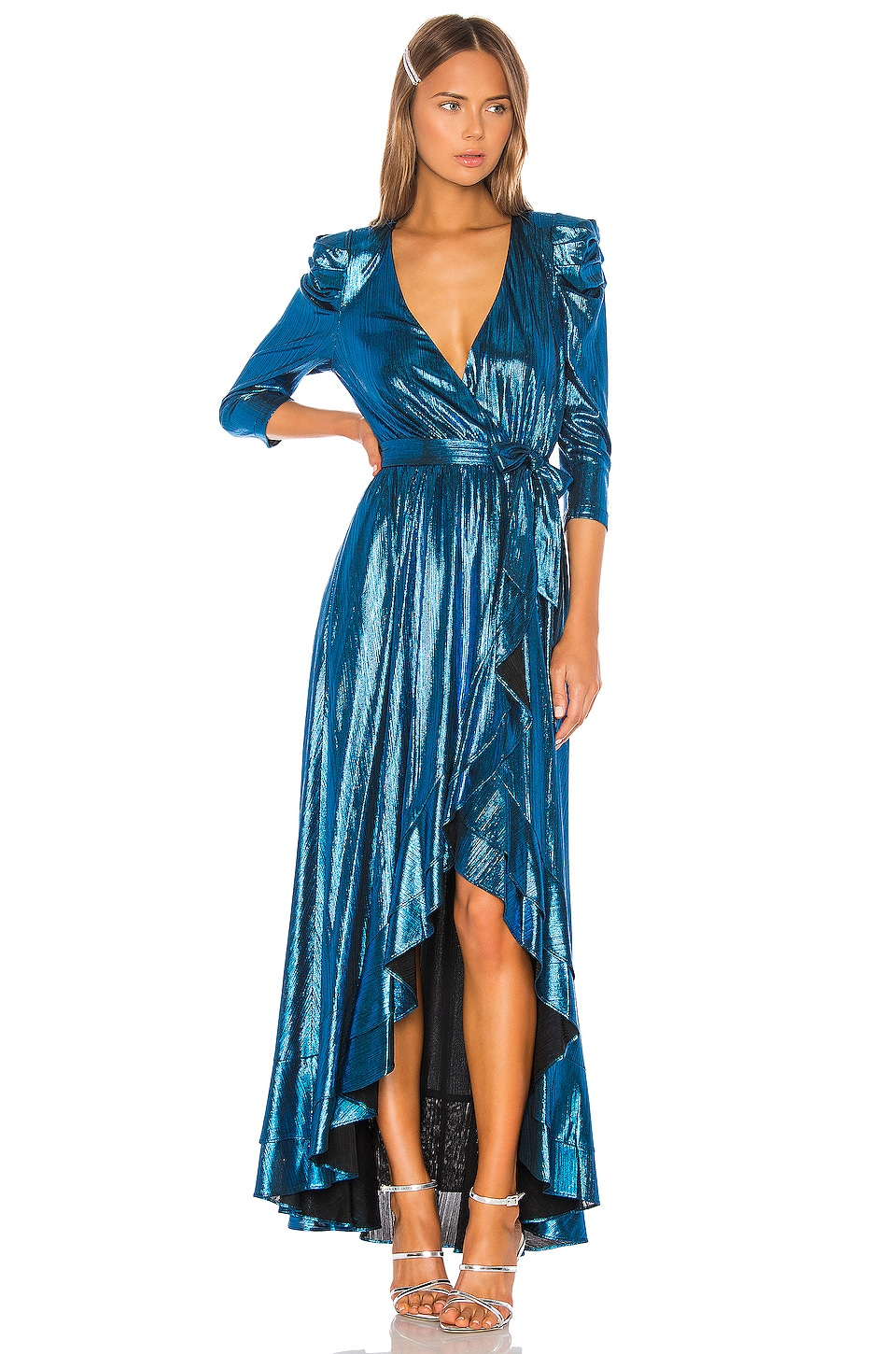 retrofete x REVOLVE Flora Gown in Turquoise