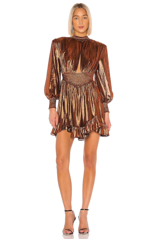 retrofete Melody Dress in Rust