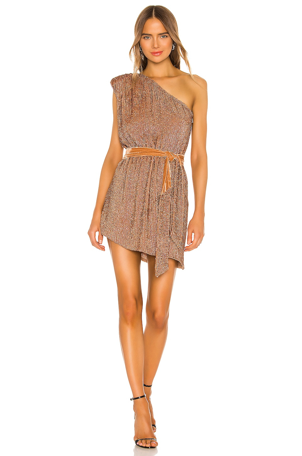 retrofete Ella Dress in Bronze