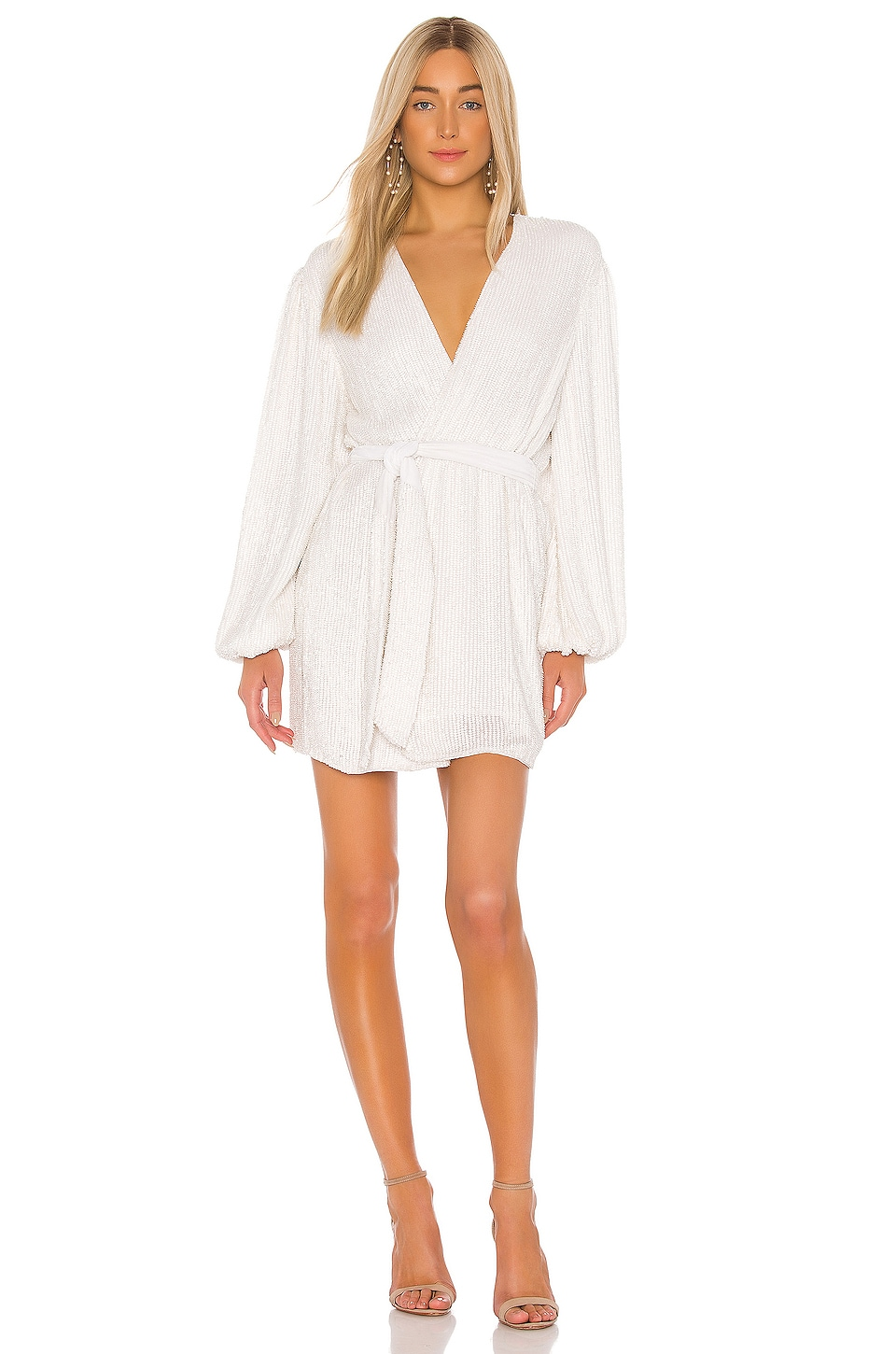 retrofete Gabrielle Robe in Moonglow White