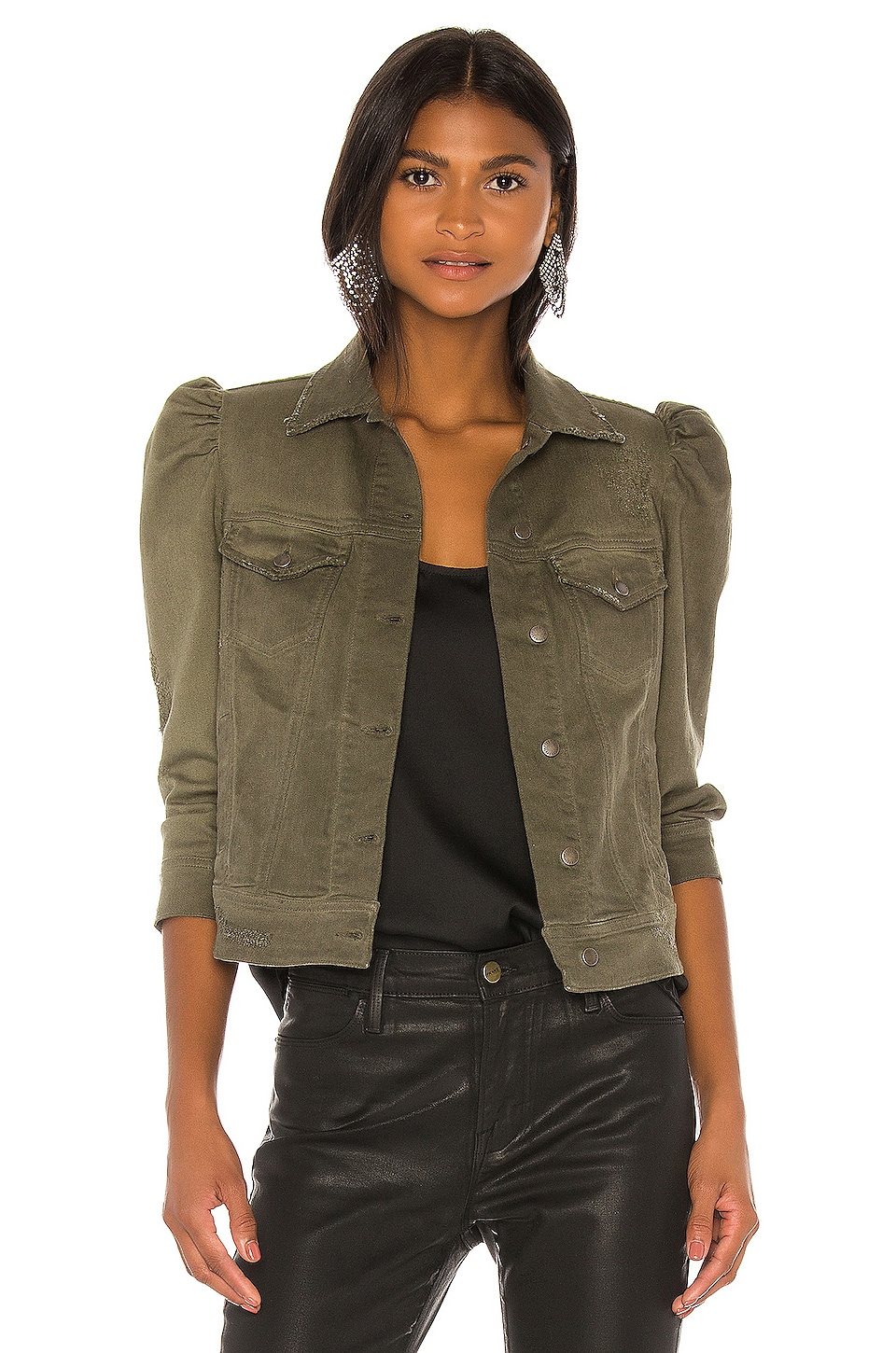 retrofete Ada Jacket in Army Green