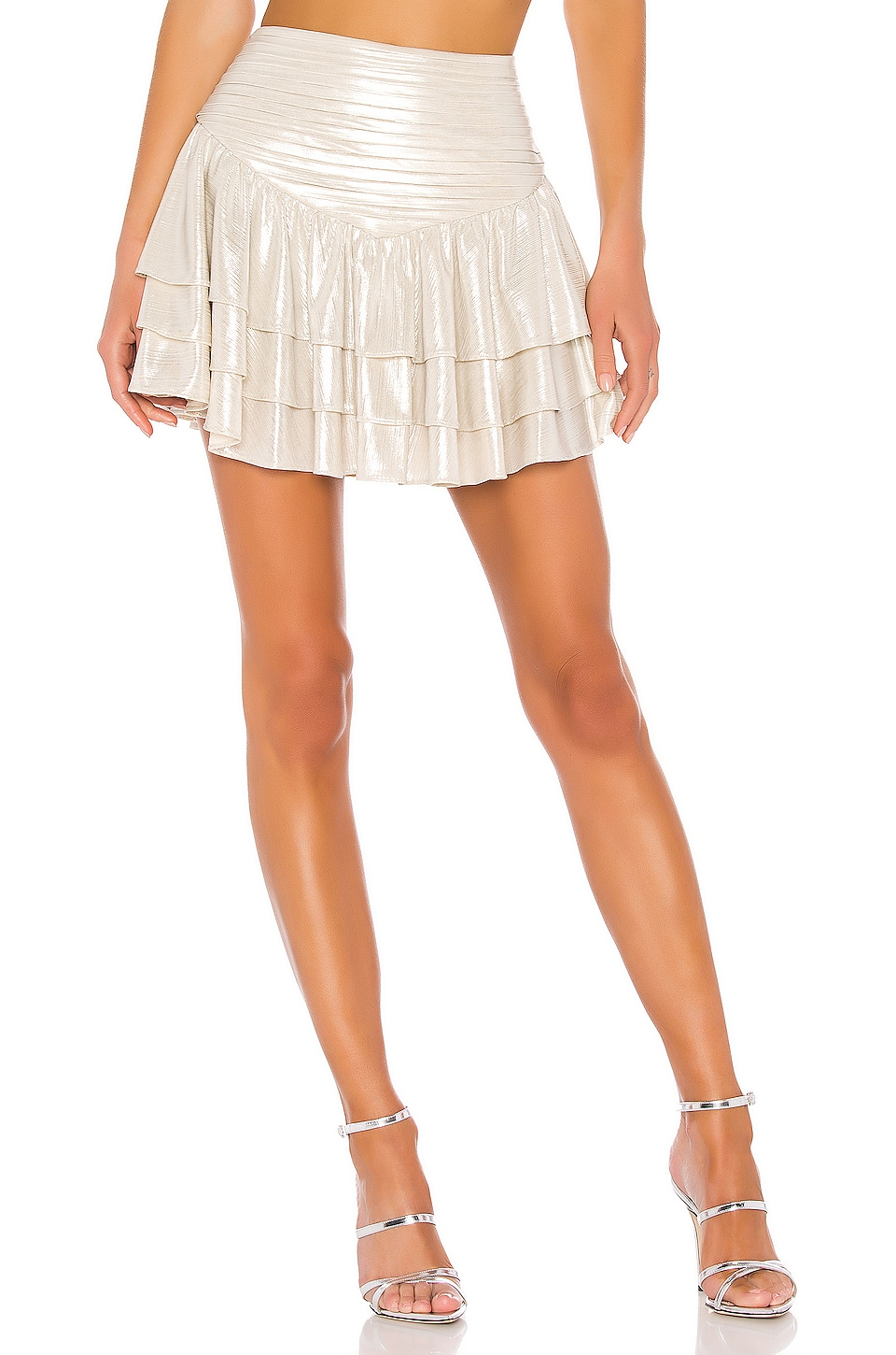 retrofete Maisie Skirt in Champagne