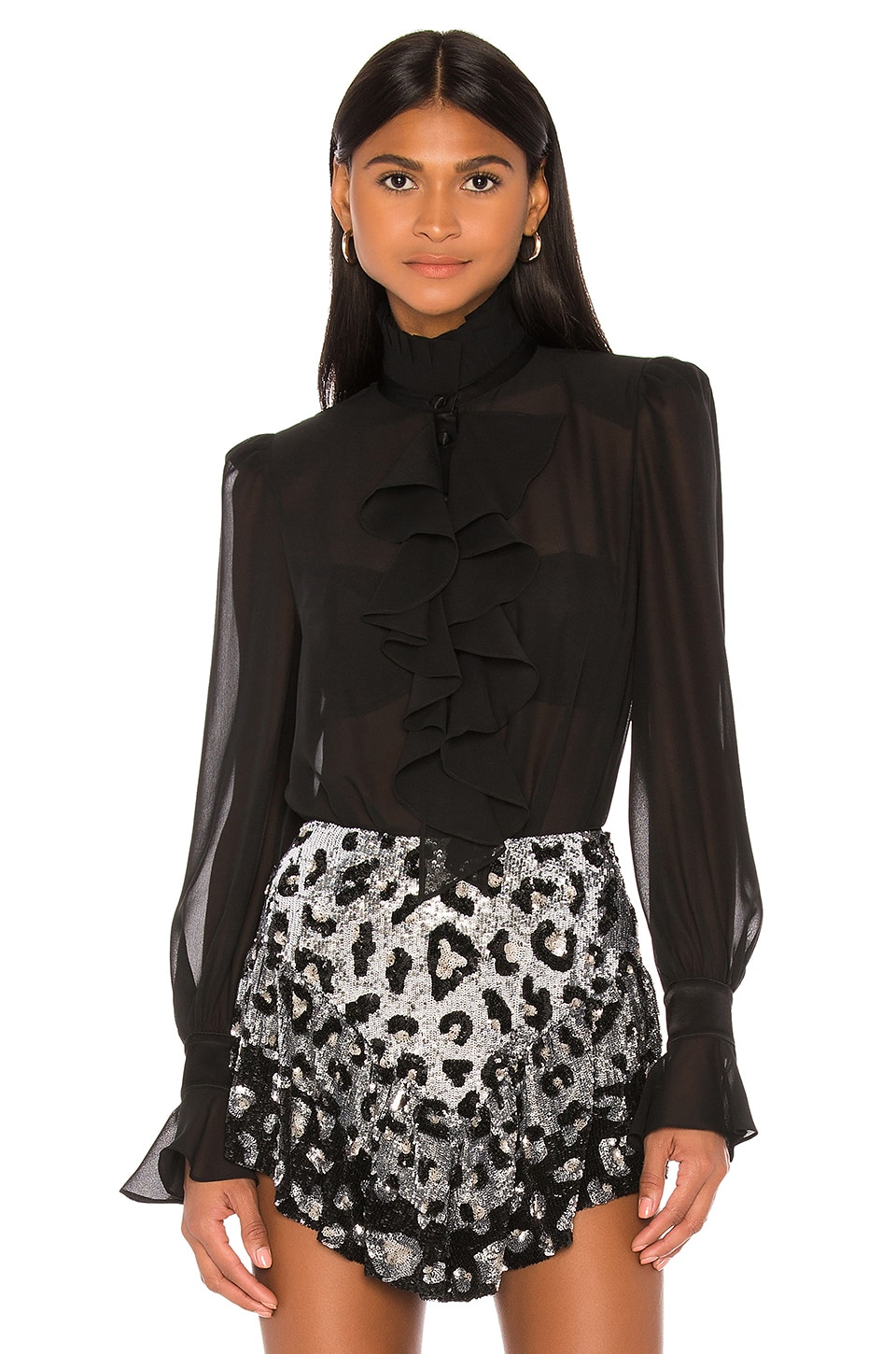 retrofete Rosalind Blouse in Black