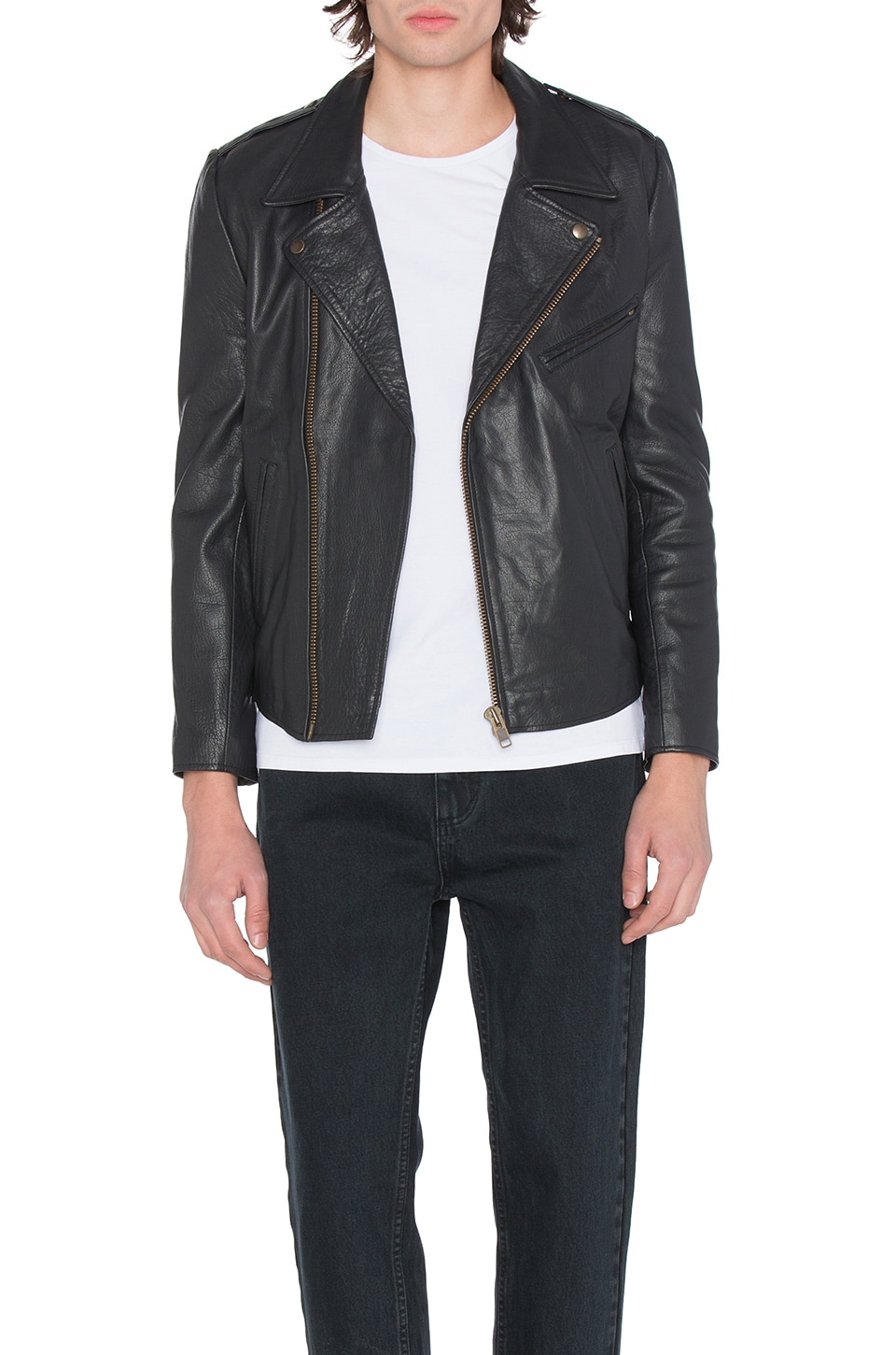 Dagger Leather Jacket by ROLLA'S