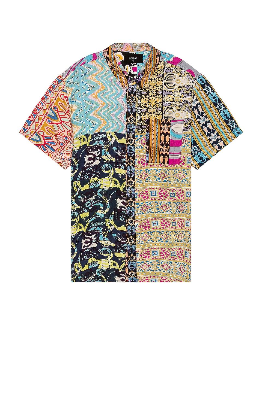 ROLLA'S Bon Patchwork Shirt en Multi