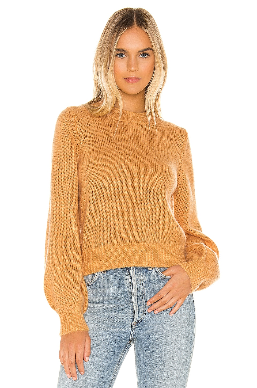 ROLLA'S Fluffy Gigi Sweater in Gold