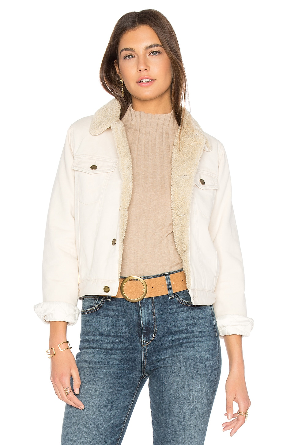 Hutchence Sherpa Jacket by ROLLA'S