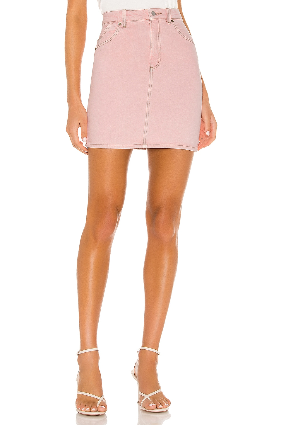 ROLLA'S High Mini Skirt in 80's Pink