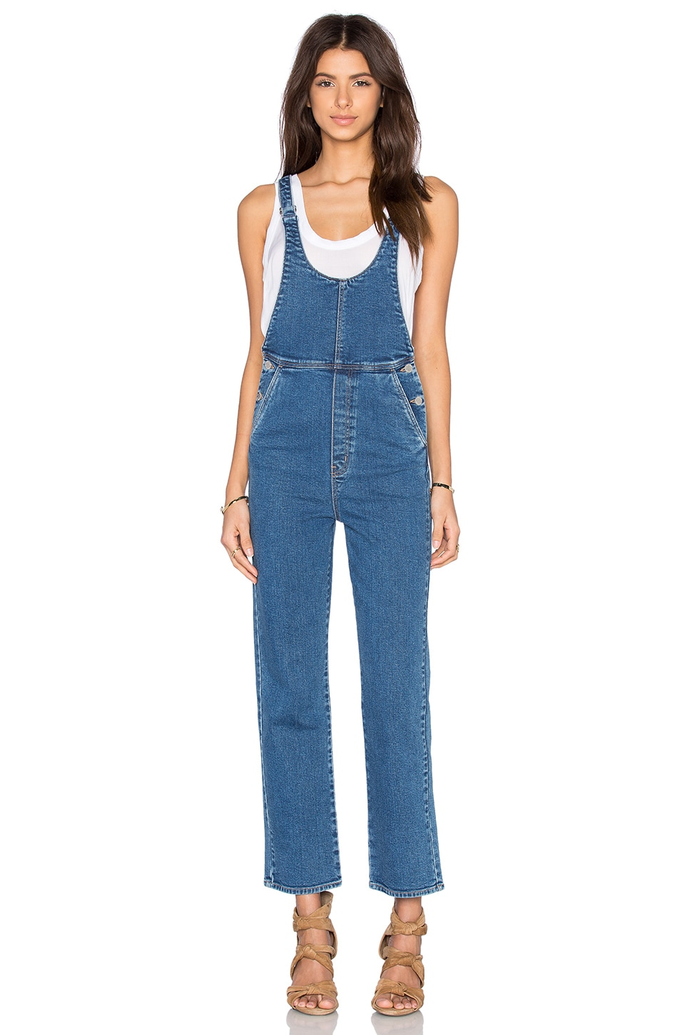ROLLA'S Original Straight Overall in  Blue