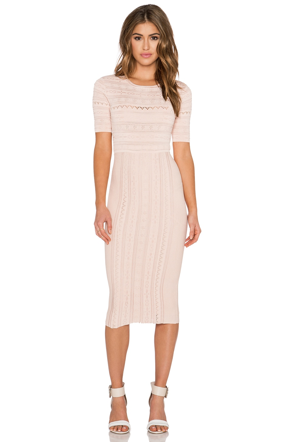 Ronny Kobo Christina Dress in Nude