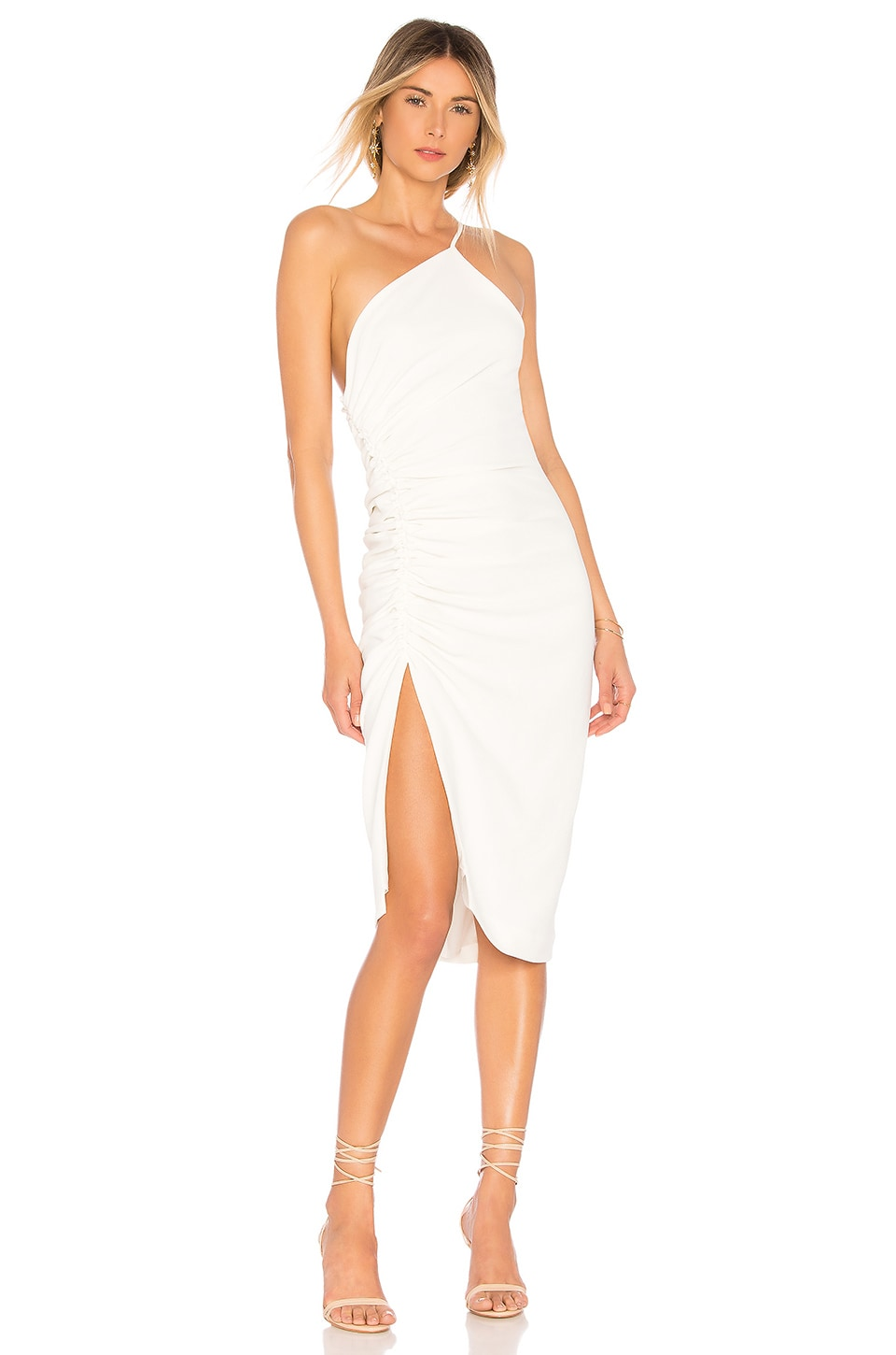 Ronny Kobo Zarma Dress in White