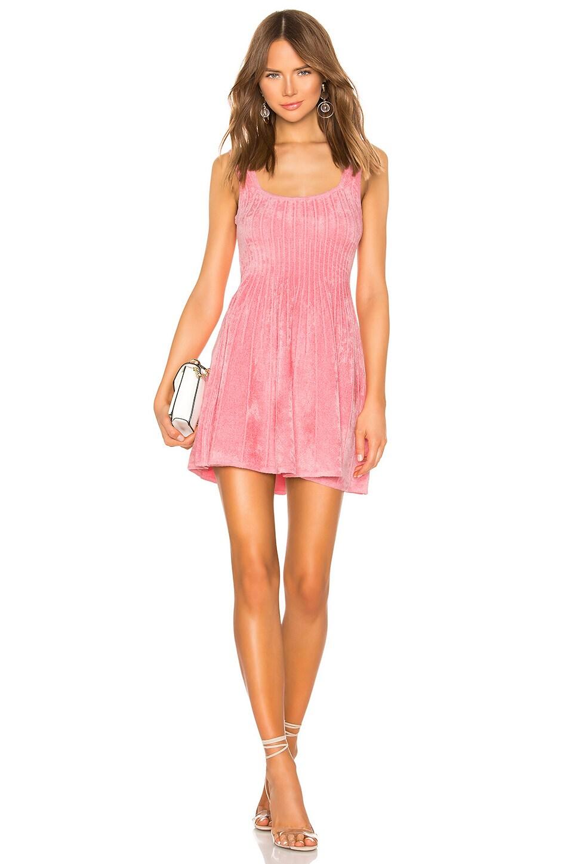 Ronny Kobo Eti Dress in Bubblegum Pink