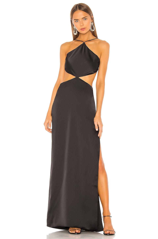 Ronny Kobo Marietta Gown in Black