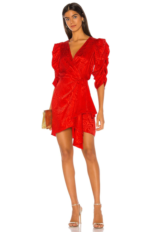 Ronny Kobo Amara Dress in Red