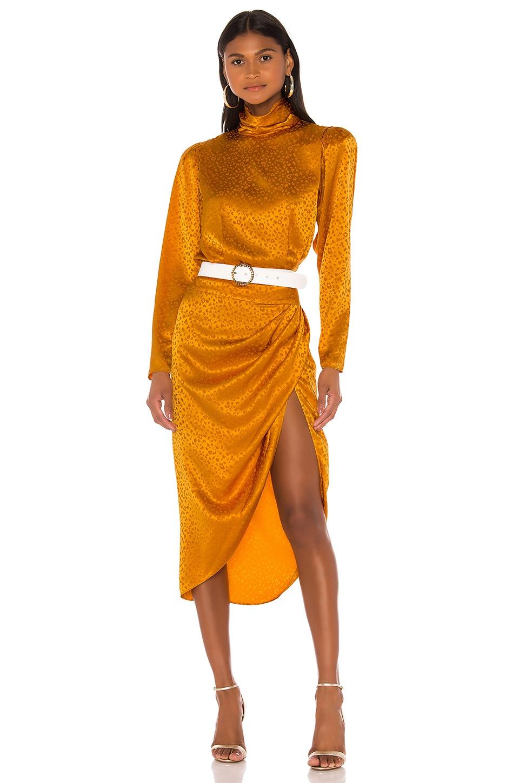 Ronny Kobo Kaira Dress in Marigold