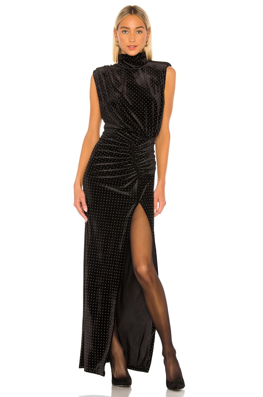 Ronny Kobo Venette Dress in Black
