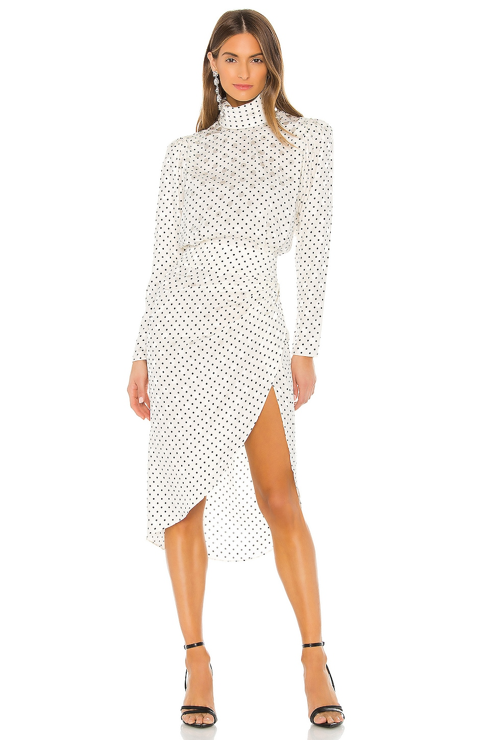 Ronny Kobo Kiara Dress in White