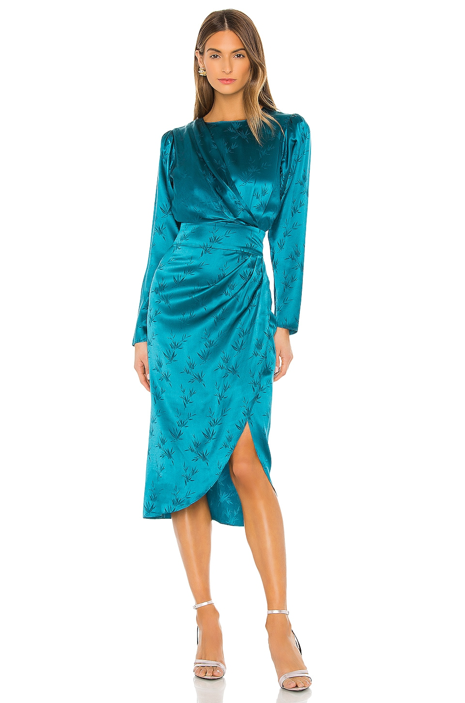 Ronny Kobo Jade Dress in Teal