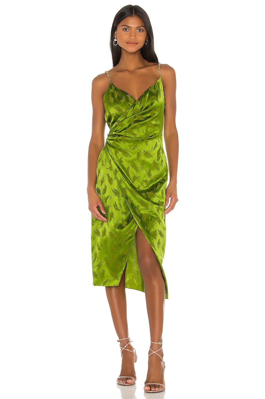 Ronny Kobo Talia Dress in Leaf