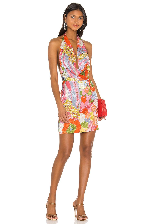 Ronny Kobo X REVOLVE Marissa Dress in Color Block Floral