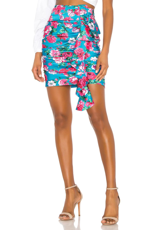 Ronny Kobo Lauryn Skirt in Sky Multi