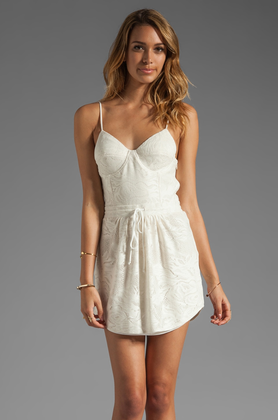 Rory Beca Emilion Corset Dress in Ivory