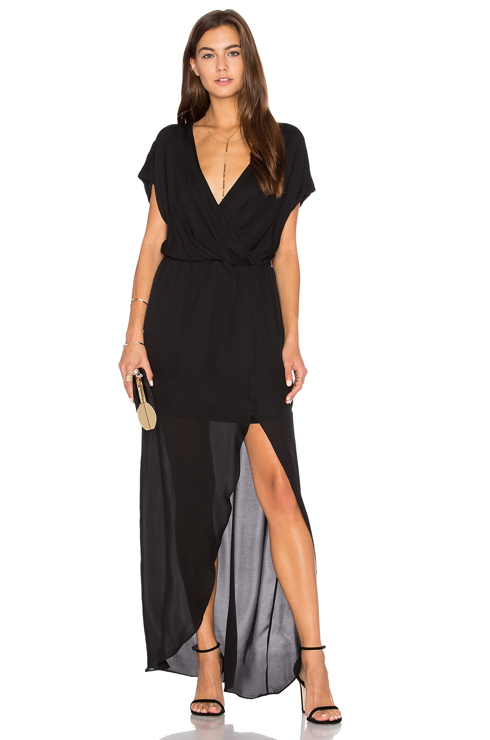 Rory Beca MAID Plaza Gown in Black