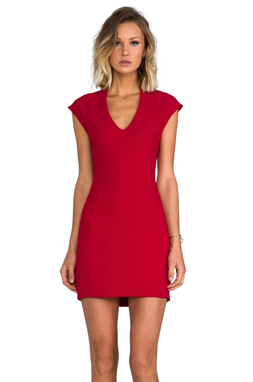 Rory Beca Spivey Dress in Red