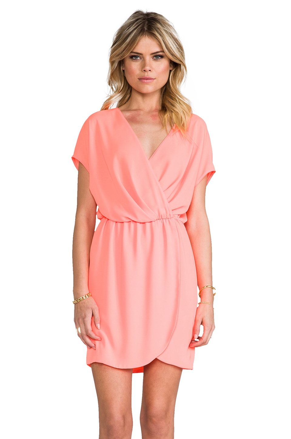 Rory Beca Apopa Overlap Dress in Lilu
