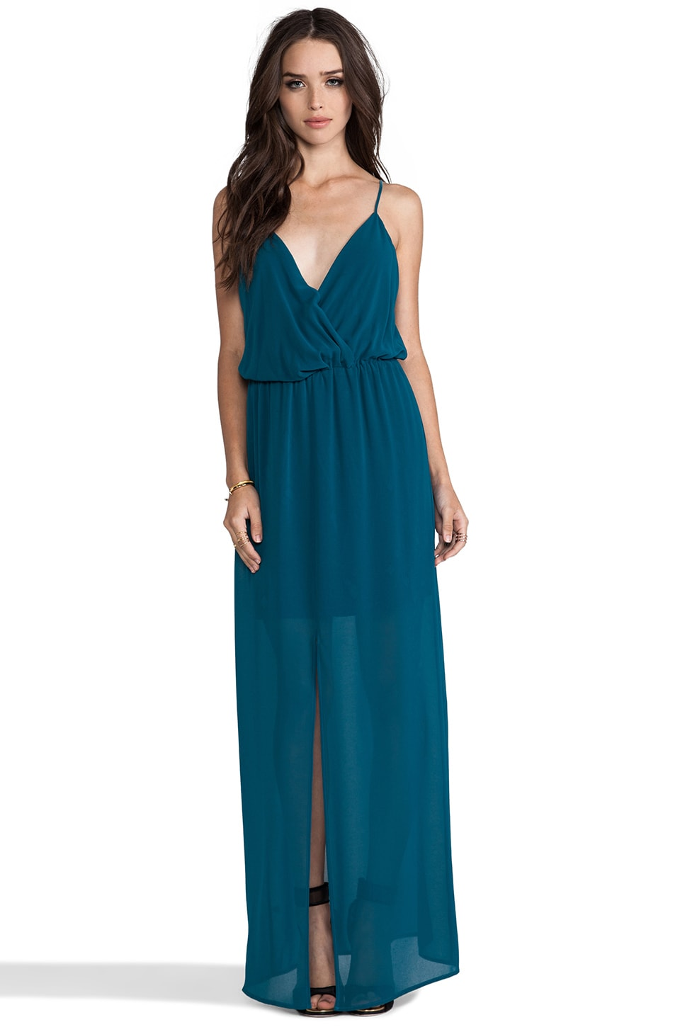 Rory Beca Andres Maxi Dress in Bleu