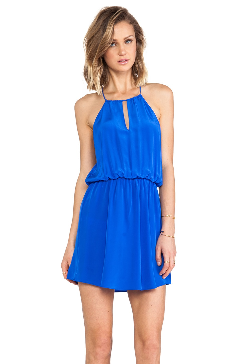 Rory Beca Danna Keyhole Dress in Electric