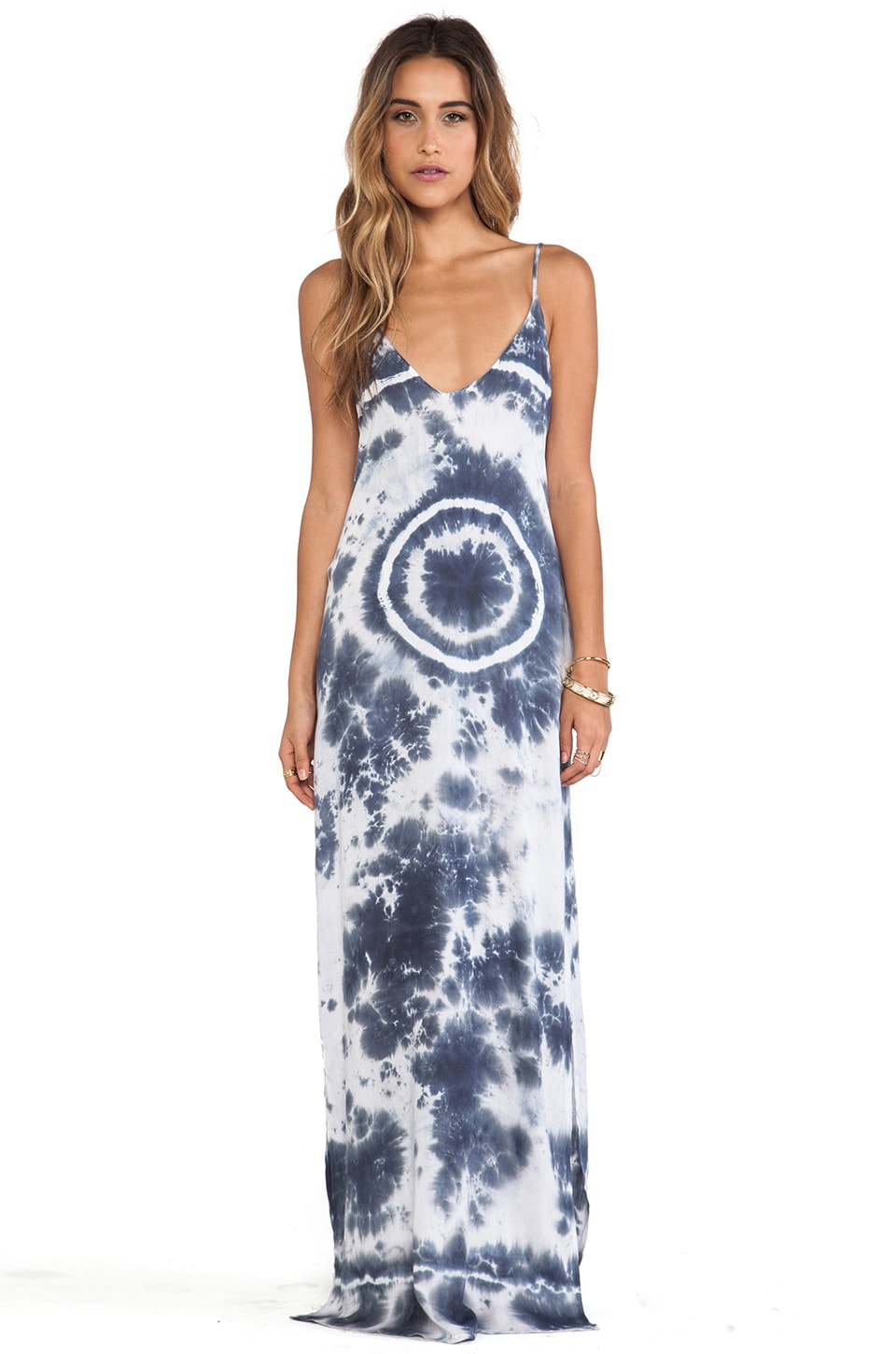 Rory Beca Eli Tie Dye Dress i in Splattered