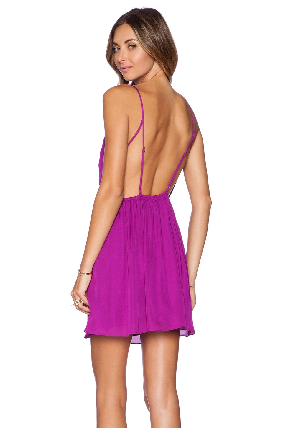 Rory Beca Marlen Backless Dress in Orchid