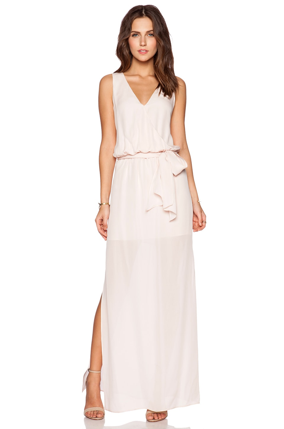 Rory Beca MAID by Yifat Oren Lucy Gown in Blush