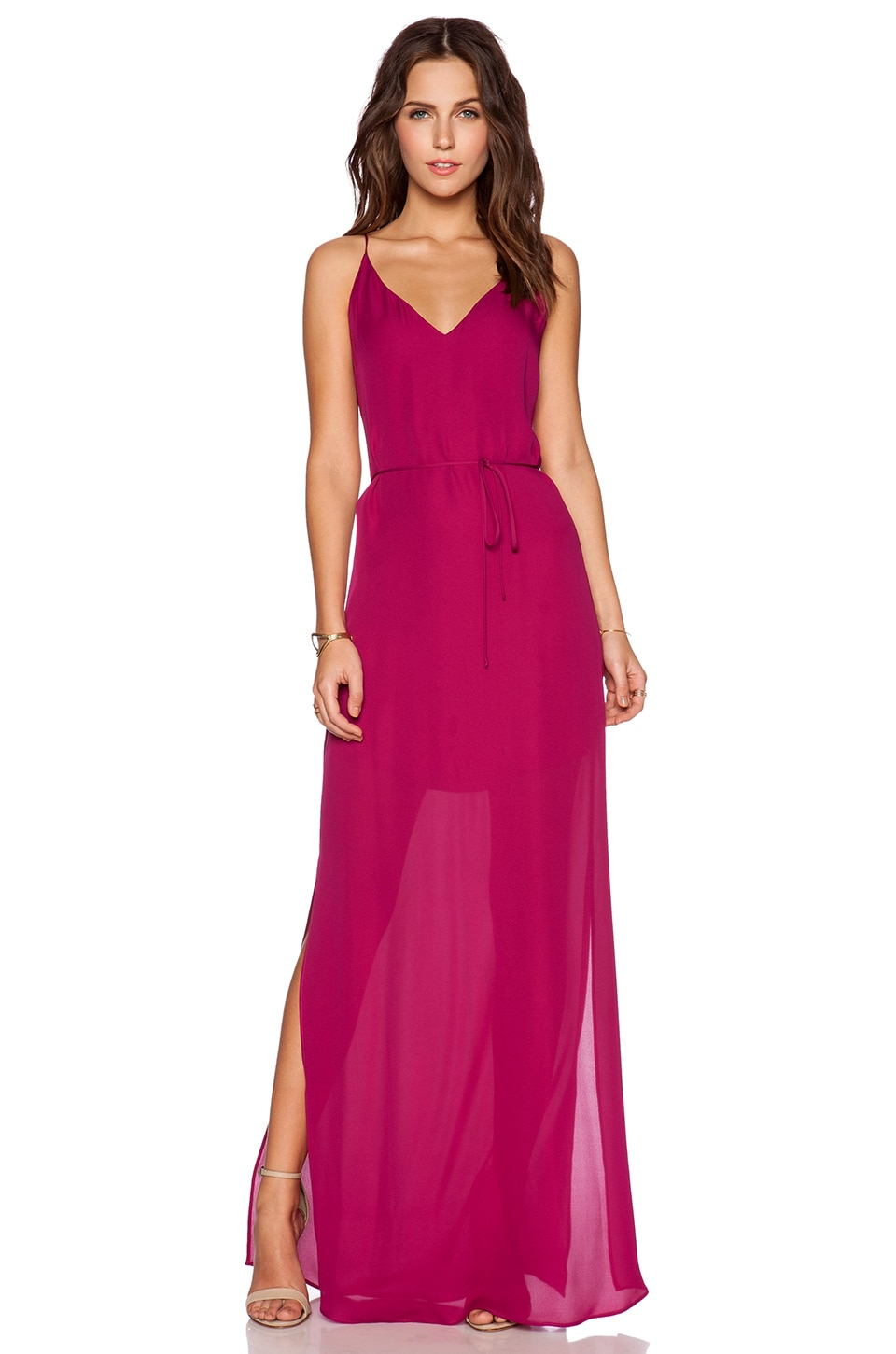 Rory Beca MAID by Yifat Oren Harlow Gown in Magenta