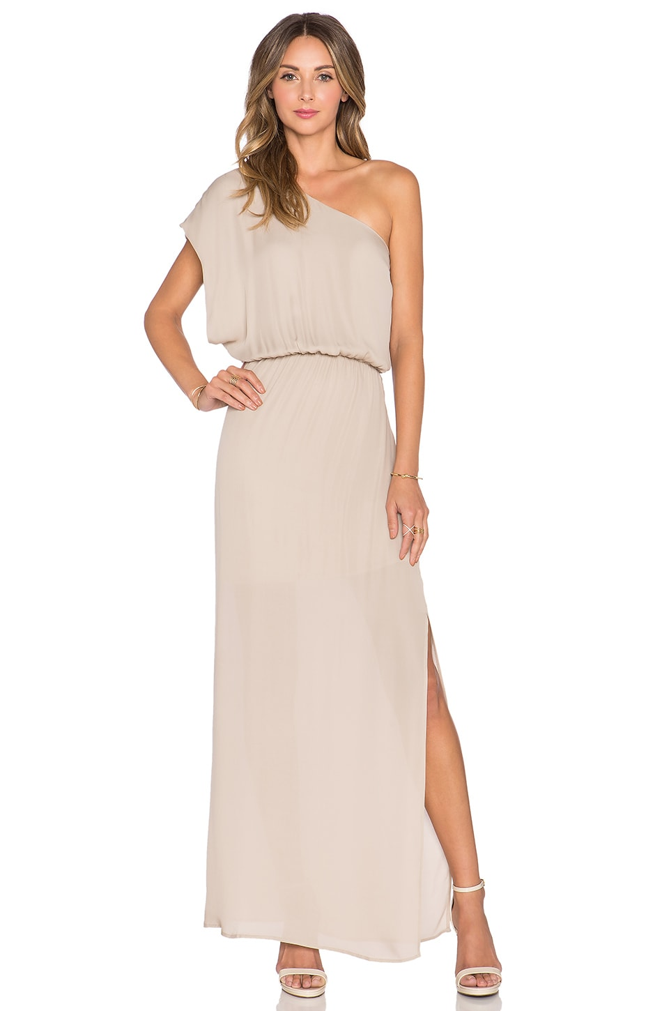 Rory Beca MAID by Yifat Oren Emma Gown in Nude