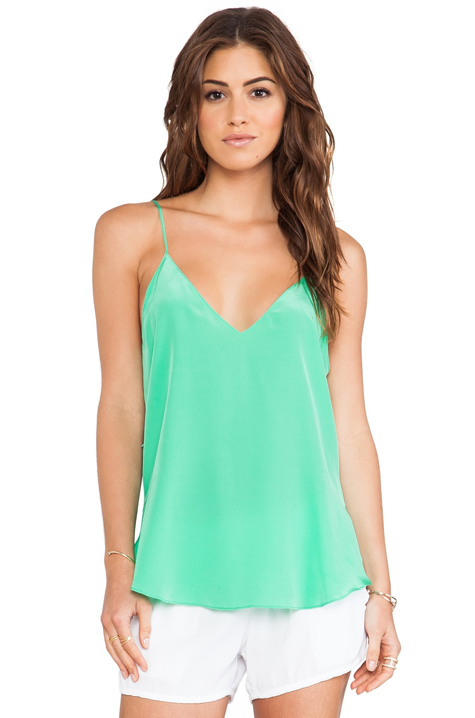 Rory Beca Marche Tank in Aloe